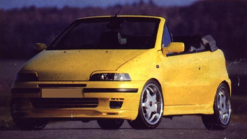 Zderzak Przedni Spoiler Fiat Punto I - GRUBYGARAGE - Sklep Tuningowy